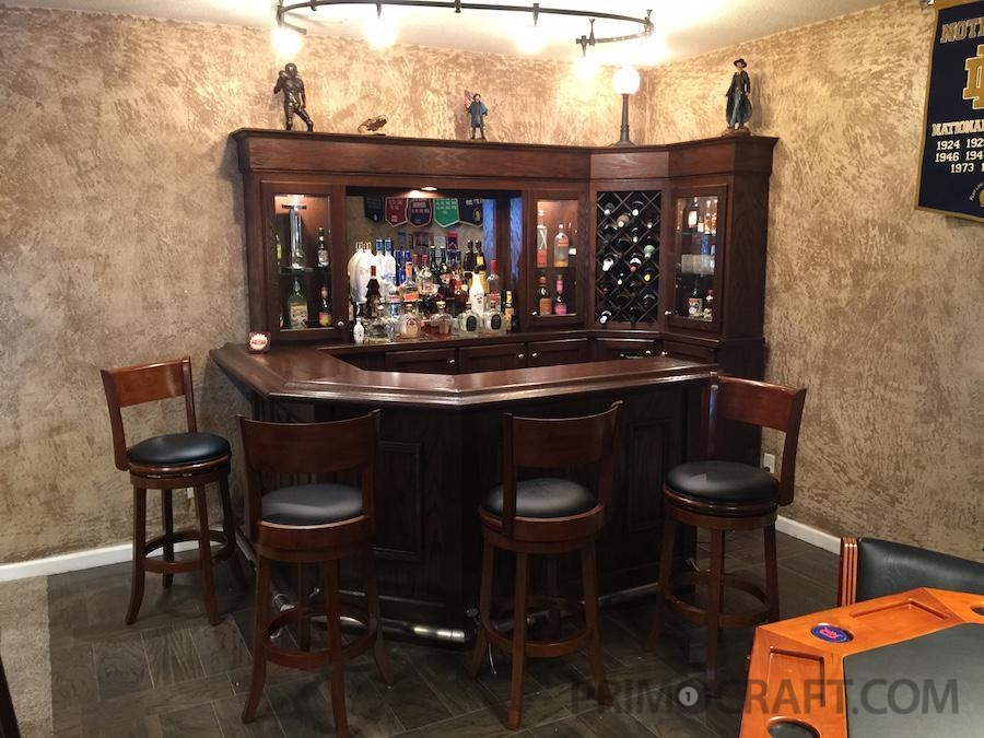 Man Cave Basement Bar : Reffitt s basement man cave bar primo craft blaine minnesota