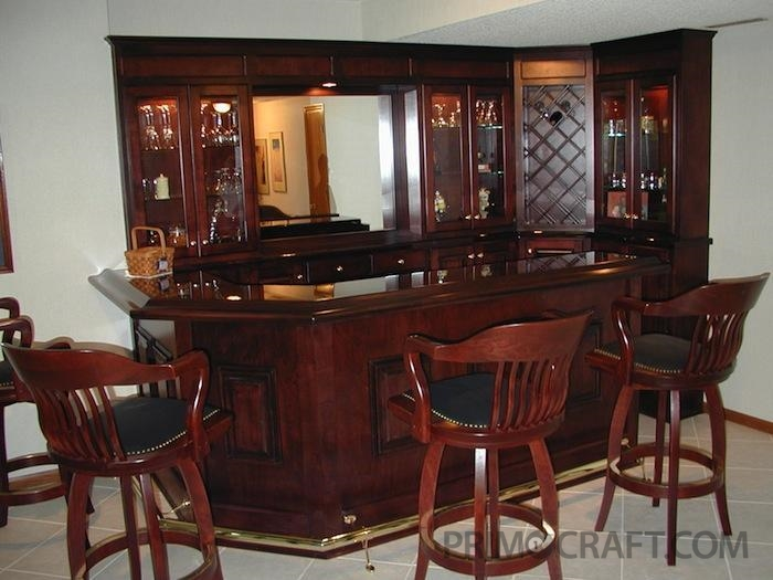 Customizing the Ivy League Home Bar Primo Craft