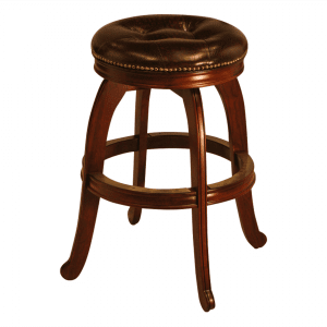 S3703 Bar Counter Backless Swivel Stool