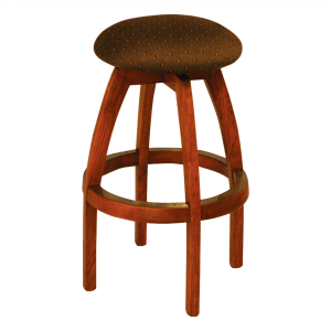 S4300 Bar Counter Backless Swivel Stool