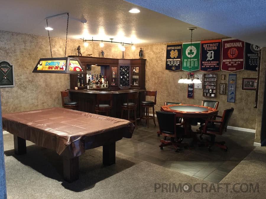 Reffitt S Basement Man Cave Primo Craft