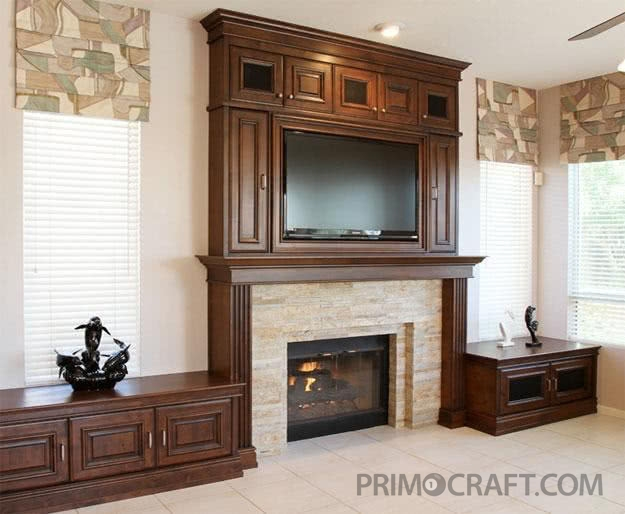 Patat Custom Fireplace And Tv Surround Primo Craft