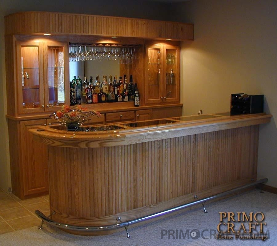 Greaves Custom Wood Home Bar