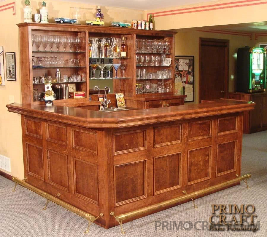Capp Custom Wood Home Bar