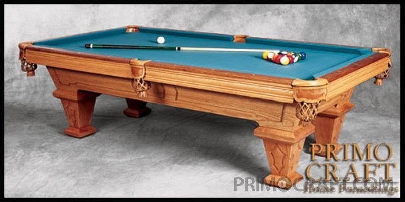 Sebastian Custom Billiard Pool Table
