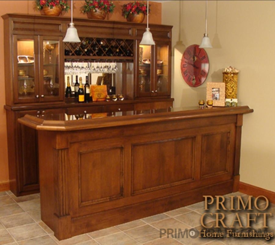 Gioia Custom Wood Home Bar