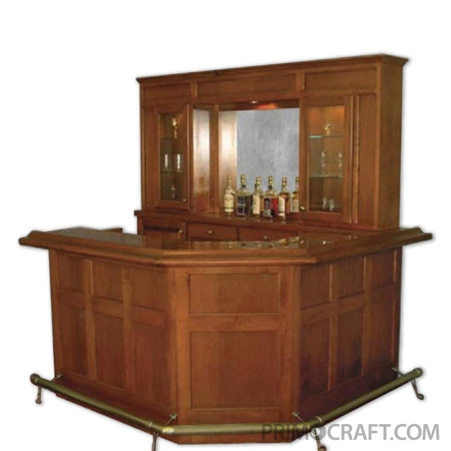 Oxford Custom Wood Home Bar