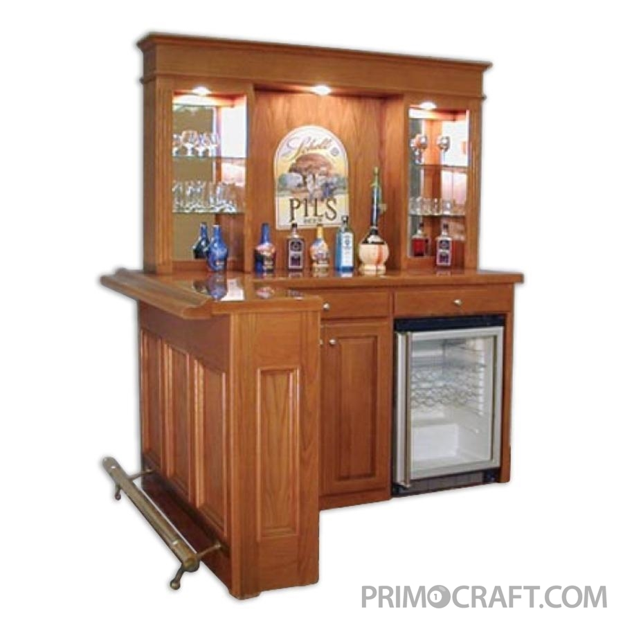 Jersey Custom Wood Home Bar