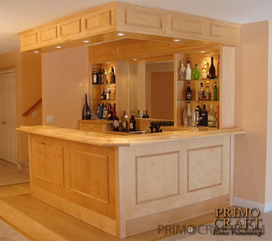 Cassidy Custom Wood Home Bar