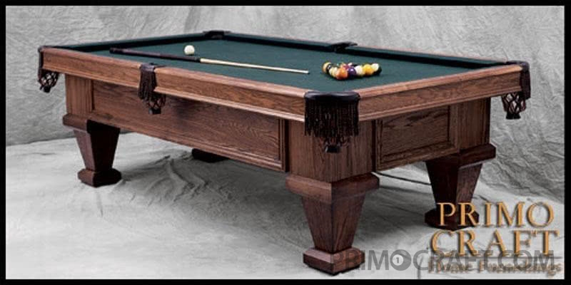 Sebastian Deluxe Custom Billiard Pool Table