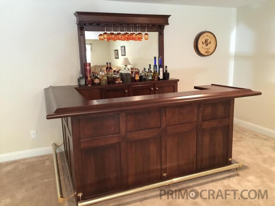 Winsor Custom Wood Home Bar