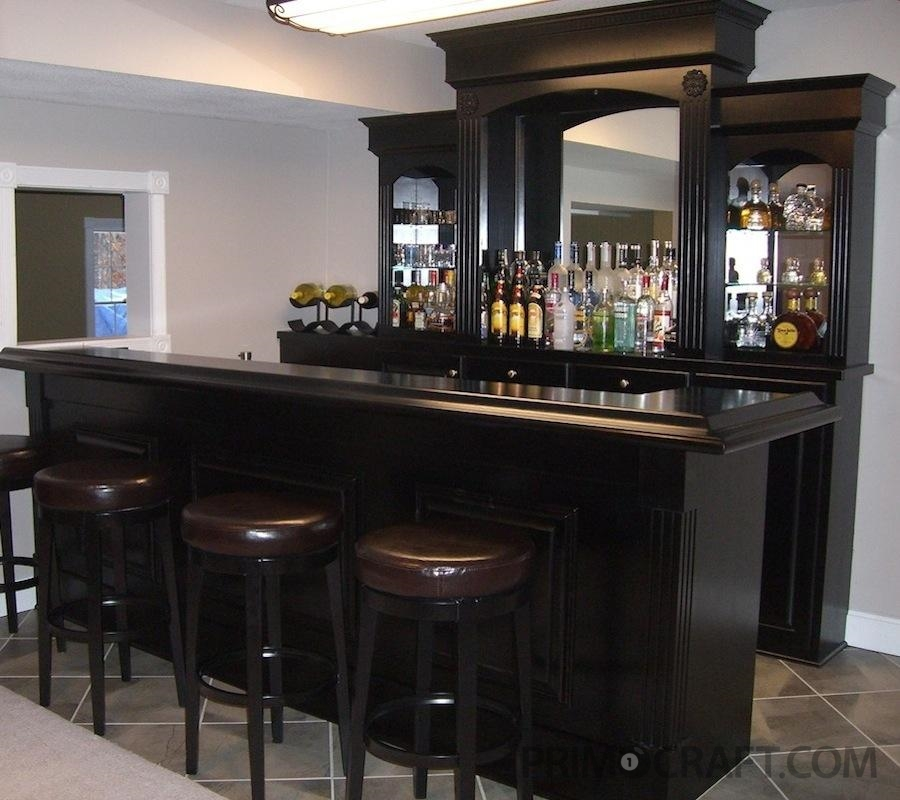 Conforte Custom Wood Home Bar