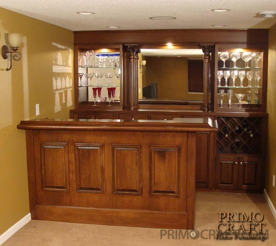 Trunda residential custom home bar primo craft - Bars for your home ...