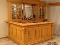 Mayland Custom Wood Home Bar