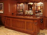 Zinter Custom Wood Home Bar