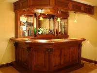 Juettner Custom Wood Home Bar