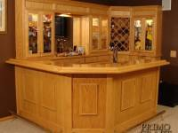 Grinde Custom Wood Home Bar
