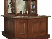 Stanford Custom Wood Home Bar
