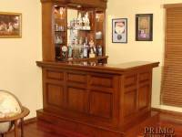 Walsh Custom Wood Home Bar