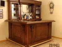 McGough Custom Wood Home Bar