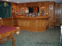 Challman Custom Wood Home Bar