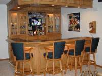 Cooper Custom Wood Home Bar