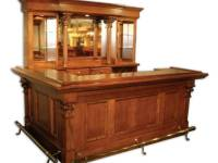 Chicago Classic Custom Wood Home Bar