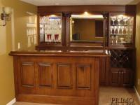 Trunda Custom Wood Home Bar
