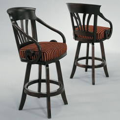 Nomad with arms Bar Stool