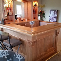 Fox Custom Home Bar