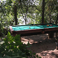 Pool Table Island